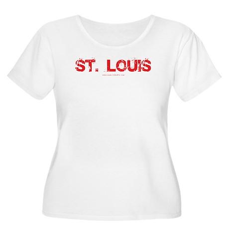 STL Women's Plus Size Scoop Neck T-Shirt