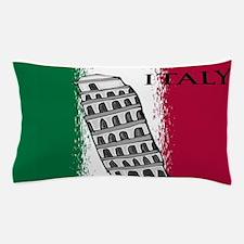 Italian Flag Art Pillow Case