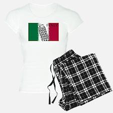 Italian Flag Art Pajamas