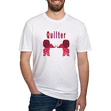 Quilter Pink Elephants t-shir Shirt