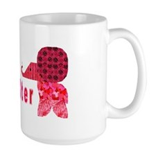 Quilter Pink Elephants t-shir Mug