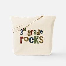 3rd Grade Rocks Third School Tote Bag
