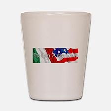 Italian American Logo Shot Glass