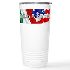 Italian American Logo Travel Mug