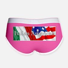 Italian American Logo Women's Boy Brief