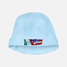 Italian American Logo baby hat