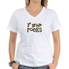 3rd Grade Rocks Third School Shirt