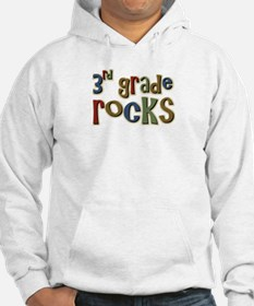 3rd Grade Rocks Third School Jumper Hoody