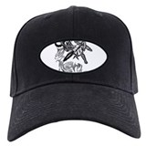 Motocross Baseball Cap with Patch