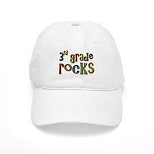 3rd Grade Rocks Third School Baseball Cap