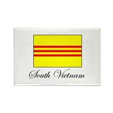 South Vietnam - Flag Rectangle Magnet
