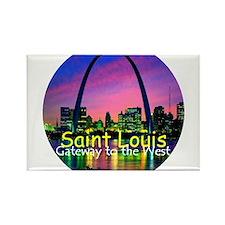 Cute St. louis Rectangle Magnet