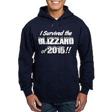 Blizzard 2015 I Survived Hoodie