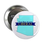 """2.25"""" Button (10 pack) True Blue Arizona LIBERAL"""