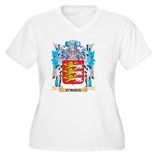 O'Brien Coat of Arms - Family Cr Plus Size T-Shirt