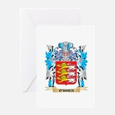O'Brien Coat of Arms - Family Crest Greeting Cards