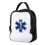 EMS EMT Rescue Logo Neoprene Lunch Bag