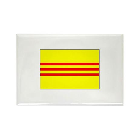 South Vietnamese Flag Rectangle Magnet