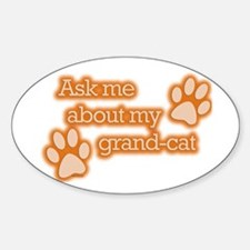 Grandcat Oval Decal