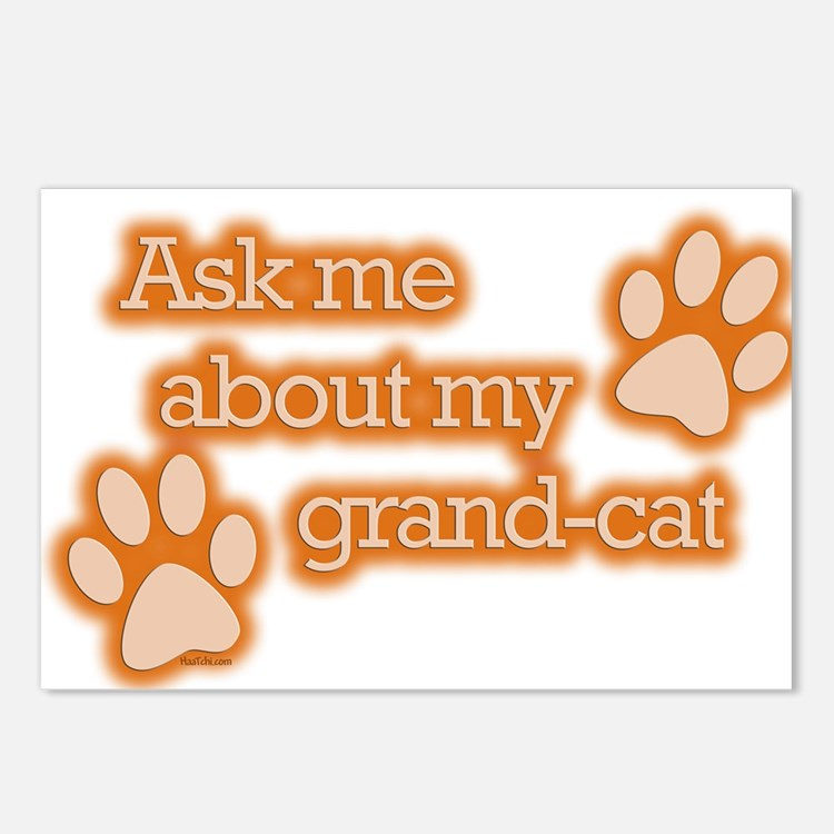 Grandcat Postcards (Package of 8)