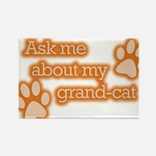 Grandcat Rectangle Magnet