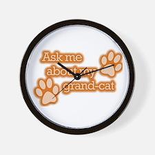 Grandcat Wall Clock