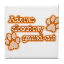 Grandcat Tile Coaster