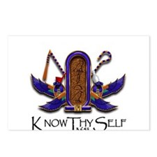 Knowthyself Logo Postcards (Package of 8)