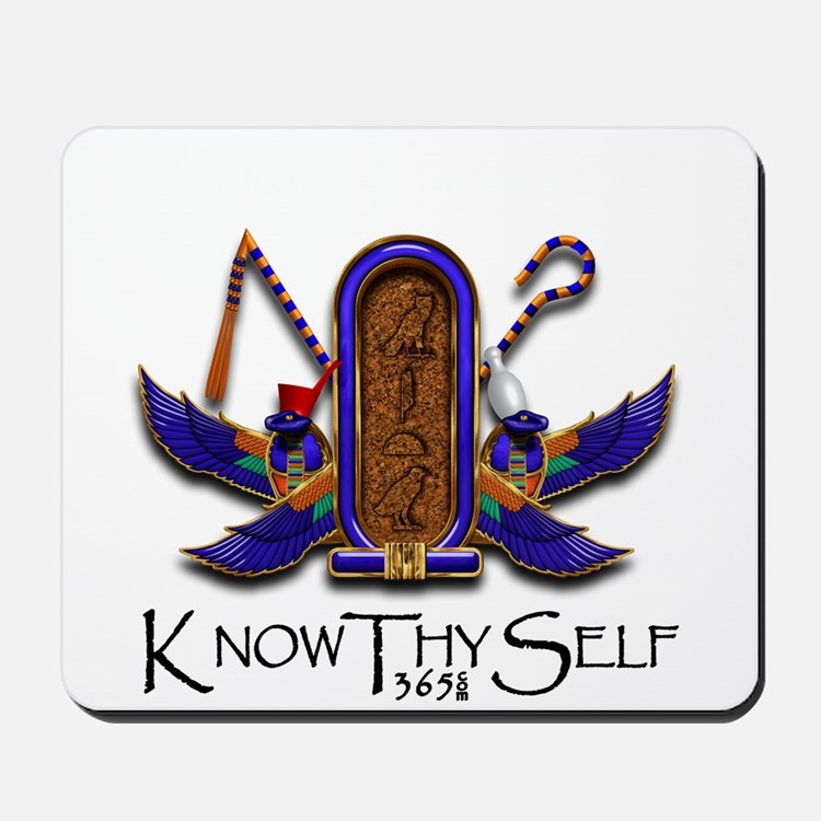 Knowthyself Logo Mousepad