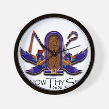 Knowthyself Logo Wall Clock
