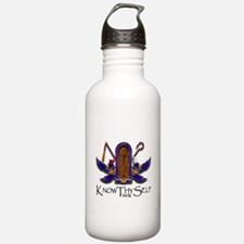 Knowthyself Logo Water Bottle