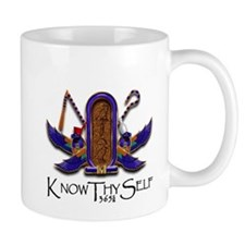 Knowthyself Logo Mugs