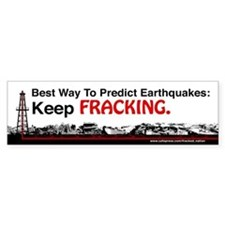 Best Way To Predict Earthquakes- Keep FRACKING Bum