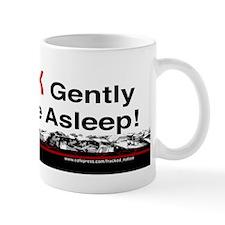Frack Gently Big One Asleeep Mugs