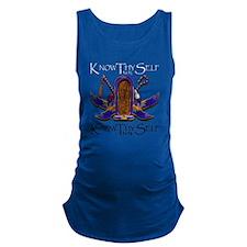 Knowthyself Logo Maternity Tank Top