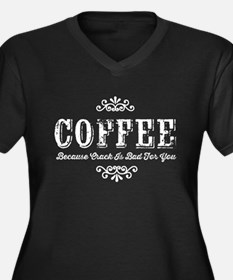 Coffee Crack Plus Size T-Shirt