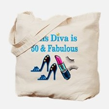 GORGEOUS 50TH Tote Bag