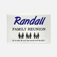 Randall Family Reunion Rectangle Magnet