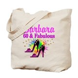 60 and fabulous Regular Canvas Tote Bag