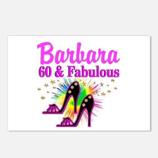 GLAMOROUS 60TH Postcards (Package of 8)