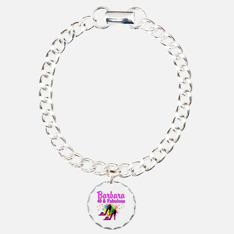 GLAMOROUS 40TH Bracelet