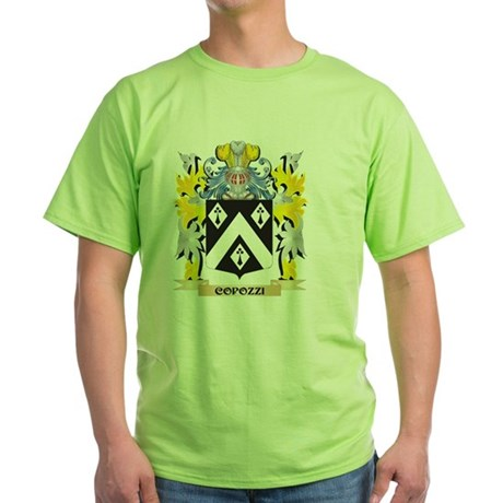 Copozzi Coat of Arms - Family Crest T-Shirt