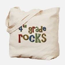 4th Grade Rocks Fourth School Tote Bag