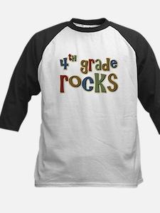 4th Grade Rocks Fourth School Tee