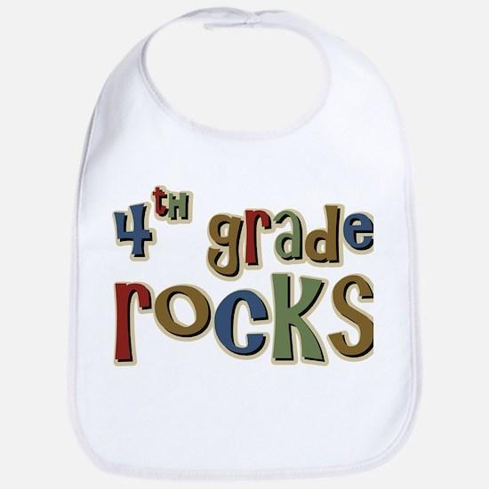 4th Grade Rocks Fourth School Bib