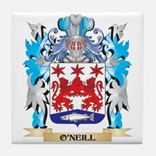 O'Neill Coat of Arms - Family Crest Tile Coaster