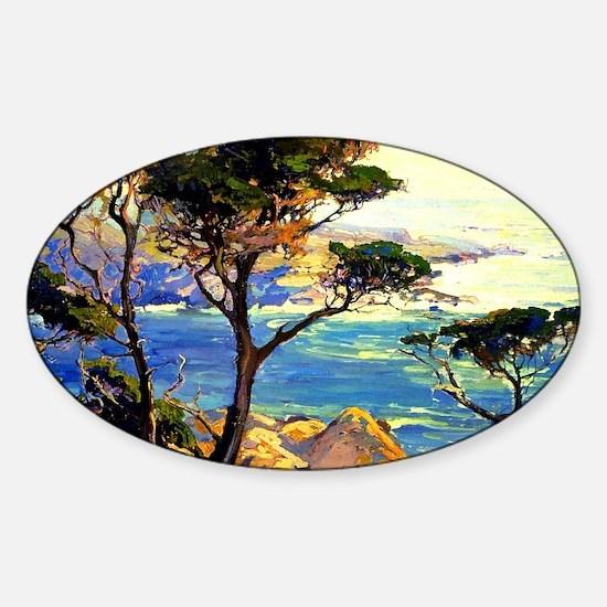 Bischoff - A Lonely Headland, Point Sticker (Oval)