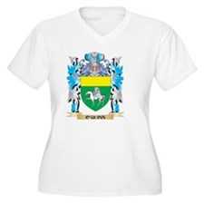 O'Quinn Coat of Arms - Family Cr Plus Size T-Shirt