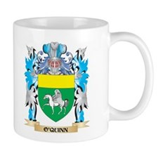 O'Quinn Coat of Arms - Family Crest Mugs