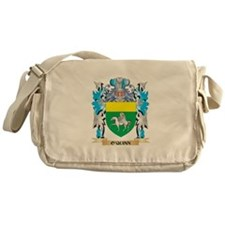 O'Quinn Coat of Arms - Family Crest Messenger Bag